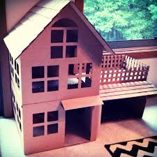 cardboard cat house houses and diy on pinterest idolza