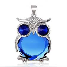 crystal owl necklace images Owl jewelry jpg