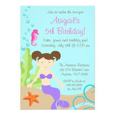free printable under the sea birthday party invitations template