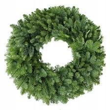 buy noble fir wreath undecorated free shipping 79 99