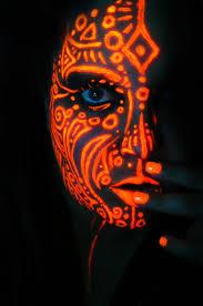 55 best black light face painting images on pinterest black