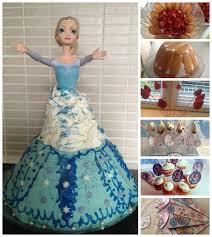 jeux de cuisine de gateaux d anniversaire gâteau anniversaire de princesse thème reine des neiges