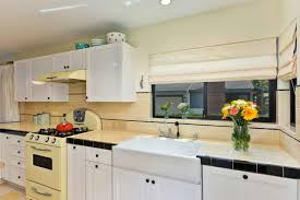 glass tile backsplash ideas pictures trends also retro kitchen