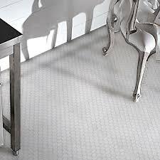 luxe hexagon mosaics tumbled tile arizona tile
