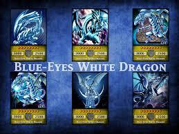 blue eyes white dragon by kogadiamond1080 on deviantart