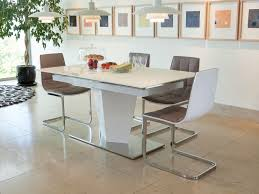 White Gloss Dining Table And Chairs White Gloss Extending Dining Table And 6 Chairs Table Designs