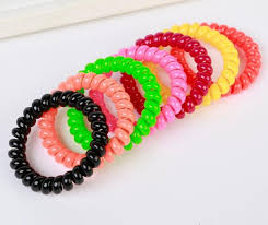 hair bands 1pcs elastic salon headbands hair bands black rubber