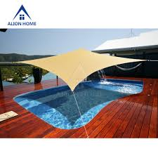 rectangle waterproof garden u0026 patio shade sails ebay