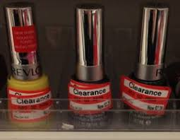 target revlon cosmetics clearance nail polish only 28 all