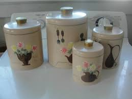 kitchen canister sets vintage canisters marvellous canister sets vintage glass canisters
