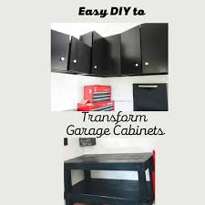 how to paint cabinets fast easy diy to transform garage cabinets unbelievably fast