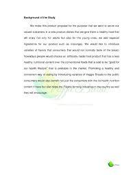feasibility study veggie bread