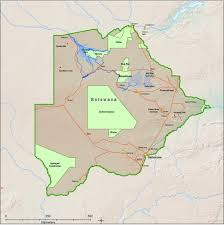 Botswana Map Safari Essence Safaris In Botswana
