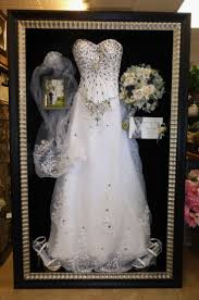 wedding gown preservation fabulous all of it framed shoes dress veil flowers