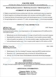 Resume Abilities Successful Resume Examples The Most Skills And Abilities Examples