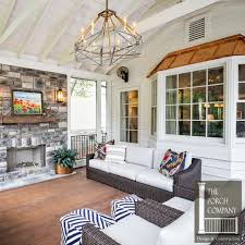 screened porch and garage oasis the porch companythe porch company
