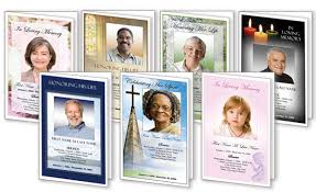 Funeral Program Designs Blank Funeral Program Template Memorial