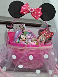 minnie mouse easter baskets six easy creative easter basket ideas hip2save
