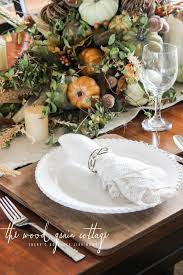 Fall Table Settings Fall Table Setting The Wood Grain Cottage