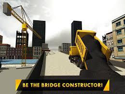 bridge builder crane operator u2013 3d city construction truck