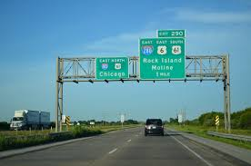 Moline Illinois Map Interstate Guide Interstate 280 Iowa Illinois