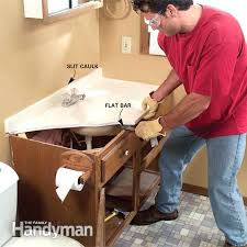 How To Remove Bathroom Vanity Vanities Replacement Bathroom Cabinet Doors Perth Installing