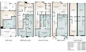 floor palns parkview townhomes floor plans conshohocken pa prdc
