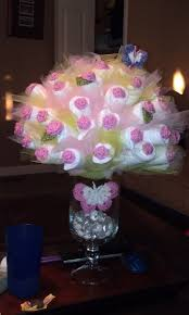 How To Decorate For A Baby Shower by Best 20 Diaper Flower Bouquets Ideas On Pinterest Diaper
