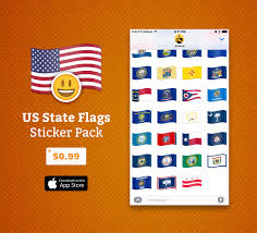 Names For The Us Flag Imessage Stickers U2014 Emojipedia Flag Stickers For Ios 10