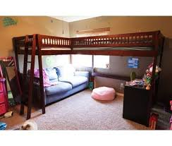 Double Twin Loft Bed Plans by If You Are Willing To Use The Bunk Beds For A Short Time You Can