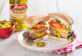backyard grill stuffed burger press mezzetta pepper stuffed burger youtube