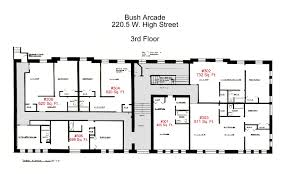 Floor Plans For Apartment Buildings by Bush Arcade Building 1 Bedroom Apartments In Bellefonte Pa 16823