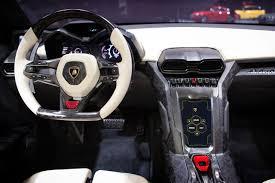Lamborghini Veneno Dashboard - lamborghini urus is the suv you should rob a bank with