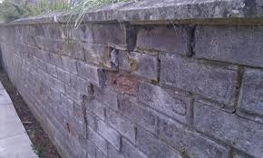 rebuild garden wall build shed foundation repointing