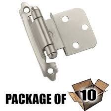 Partial Inset Cabinet Door Hinges by Knobs4less Com Offers Amerock Ame 129305 Cabinet Hinges Satin
