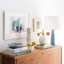 Decorating A Credenza How To Style A Credenza Emily Henderson