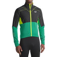 softshell cycling jacket mens pearl izumi p r o pursuit thermal soft shell jacket for men