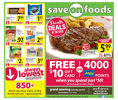 Save On Foods Thanksgiving Hours Save On Foods Canada Flyers