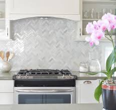 marble backsplash kitchen herringbone marble backsplash brilliant marvelous home interior