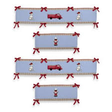 Firefighter Crib Bedding Geenny Baby Boy Truck 13pcs Crib Bedding Set Firefighter