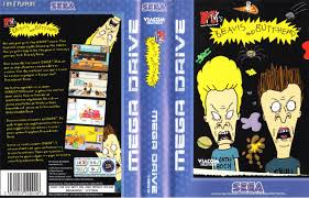 Beavis And Butthead Halloween by Jaquettes Jeux Megadrive