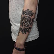 42 totally awesome black rose tattoo that will inspire you to get