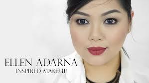 ellen adarna nude photos ellen adarna inspired makeup tutorial star magic ball 2015 youtube