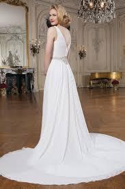 justin alexander 8733 classic wedding dress chiffon pearl diamante