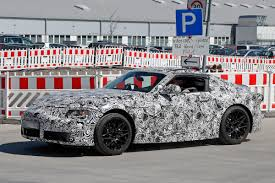 New Toyota Supra New Toyota Supra Spied Pictures 1 Auto Express
