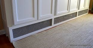recessed baseboard highest rated built in cabinets over baseboard heat wooden