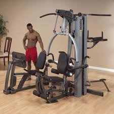 Body Solid Preacher Curl Bench Body Solid Fusion 600 Personal Trainer Home Gym With 210lb Weight