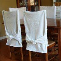 Chair Covers For Dining Room Chairs I U0027ve Been Looking For Something Like This Looks Like A Quick