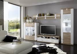 Wohnzimmerschrank Eiche Wohnwand Modern Braun Mxpweb Com