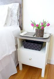 Bunk Bed Side Table Nightstand Simple Design Of Tarva Nightstand For Bedroom